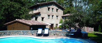 Stay at the Hotel Can Blanc on our Pyrenees Sea to Sea bike tour