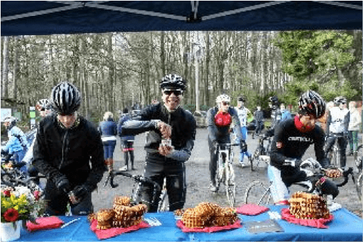 Trek Travel rest stop at Trek Factory Racing event