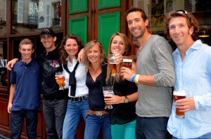 Trek Travel Guides enjoying time off