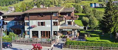 Hotel Nevada on our Giro d'Italia bike tours